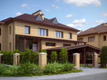 Внешний вид жилого дома в ЖК Дуплексы